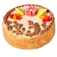 Sponge cake - flowers and bouquets on 7roz.lviv.ua