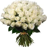 Large bouquet of imported roses - flowers and bouquets on 7roz.lviv.ua