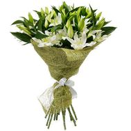 Bouquet of 15 lilies - flowers and bouquets on 7roz.lviv.ua