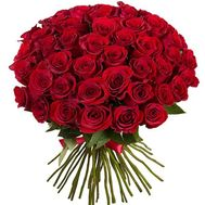 Bouquet of 51 imported roses - flowers and bouquets on 7roz.lviv.ua
