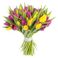 Beautiful bouquet of tulips - flowers and bouquets on 7roz.lviv.ua