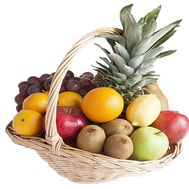 Fruit gift basket - flowers and bouquets on 7roz.lviv.ua
