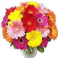 Bright bouquet of gerberas - flowers and bouquets on 7roz.lviv.ua