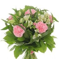 Bouquet of carnations and alstromeria - flowers and bouquets on 7roz.lviv.ua