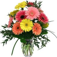 Bouquet of 11 gerberas - flowers and bouquets on 7roz.lviv.ua