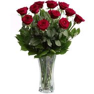 Bouquet of flowers of 11 roses - flowers and bouquets on 7roz.lviv.ua