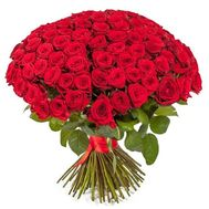 Bouquet of 151 red roses - flowers and bouquets on 7roz.lviv.ua
