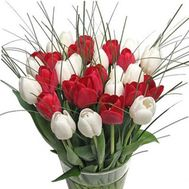 Bouquet of 39 tulips - flowers and bouquets on 7roz.lviv.ua