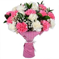 Bouquet of 17 carnations - flowers and bouquets on 7roz.lviv.ua