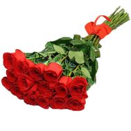 Bouquet of 15 red roses - flowers and bouquets on 7roz.lviv.ua