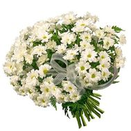 Bouquet of 19 chrysanthemums - flowers and bouquets on 7roz.lviv.ua