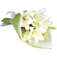 Bouquet of 3 lilies - flowers and bouquets on 7roz.lviv.ua