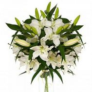 Bouquet of 11 lilies - flowers and bouquets on 7roz.lviv.ua