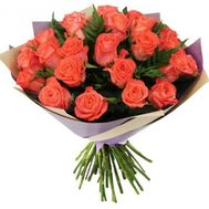 Bouquet of 25 roses - flowers and bouquets on 7roz.lviv.ua