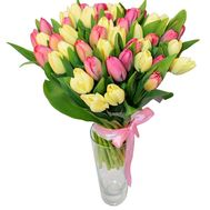 Bouquet of 45 tulips - flowers and bouquets on 7roz.lviv.ua