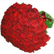 101 imported roses - flowers and bouquets on 7roz.lviv.ua