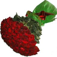 Bouquet of 51 red roses - flowers and bouquets on 7roz.lviv.ua
