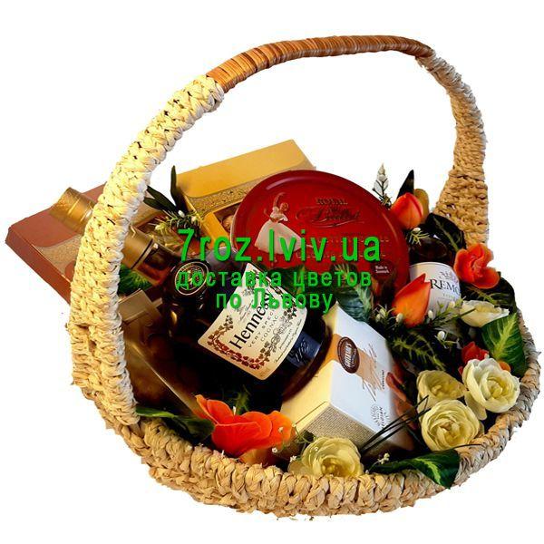 """ddd9b52f2a62 """"Элитный подарочный набор"""" в интернет-магазине цветов 7roz.lviv.ua"""